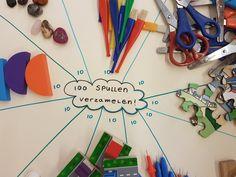 Verzamel 10x10 spulletjes Triangle