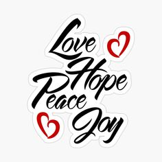 Paper Bag Lanterns, Peace And Love, Hand Lettering, Christian, Joy, Stickers, Art Prints, Printed, Awesome