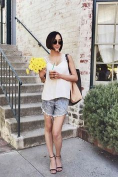 CAMI NYC tops are the best for summer street wear!