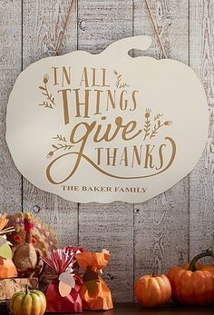 In all things give thanks!
