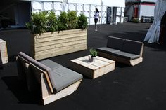 Steigerhouten Lounge meubilair
