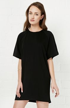 BLQ BASIQ Sweatshirt Dress in Black XS / S | DAILYLOOK