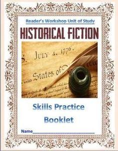 Historical Fiction: Reader's Workshop Unit (Common Core Sk