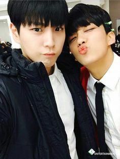 So cute Himchan and yongjae oppa