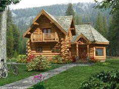 Log Cabin Plans and Prices | this plan price quote study set virtual tour more images select a plan ...