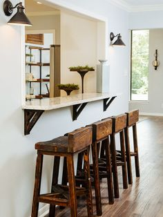 Dining room: Add over-hanging counter to pass through?