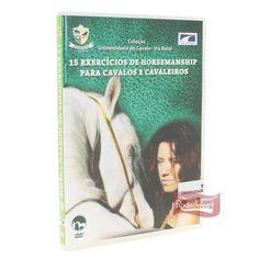 DVD 15 Exercícios de Horsemanship p/ Cavalos e Cavaleiros: Casa e Lazer