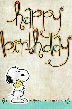 happy birthday (Snoopy and Woodstock) Happy Birthday Pictures, Happy Birthday Messages, Happy Birthday Quotes, Happy Birthday Greetings, Snoopy Birthday, Birthday Fun, Birthday Blessings, Birthday Posts, Bday Cards