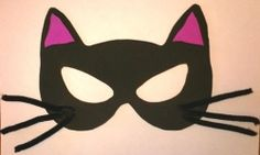Cat mask for costume? Kindergarten Crafts, Daycare Crafts, Crafts For Kids, Cat Costumes, Costume Ideas, Hair Styel, Brownie Ideas, Mask Template, Cat Mask