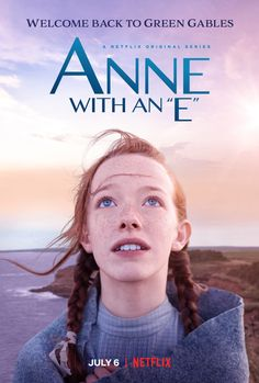 """For all those watching """"Anne with an E"""" for the first time on Netflix should know that the series is loosely based on the novel """"Anne of Green Gables."""" The story is about a young orphan girl who fi… Anne Green, Gilbert Blythe, Anne Shirley, Anne Tv Series, Tv Series 2017, Anne Netflix, Shows On Netflix, Netflix 2017, Netflix Series"""