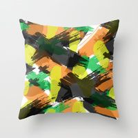 Throw Pillow featuring Cara by Gonpart