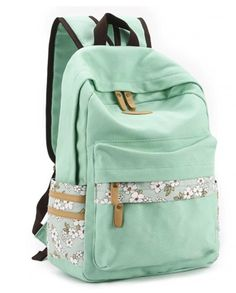 Cute Cheap Backpacks| Mint Green, Blue, and Pink Styles!