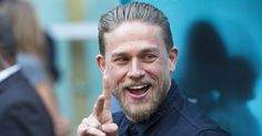 Charlie Hunnam Graces the Red Carpet With His Beautiful Face and Megawatt Smile  http://www.popsugar.com/celebrity/Charlie-Hunnam-Red-Carpet-July-2016-41905804