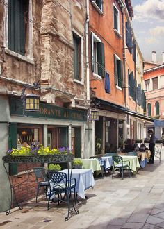 Ristorante Al Covo - Al Covo is one of the top restaurants in Venice. The owner is Cesare, and his wife Diane is from Houston originally. They are great, and it is truly an amazing restaurant.