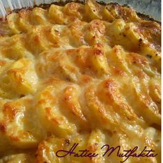 Hatice Mutfakta: Fırında Kremalı Patates Easy Eat, Gratin, Turkish Recipes, Ethnic Recipes, No Gluten Diet, Oven Dishes, Taco Pizza, Creamy Potato Bake, Food Court