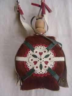 found it! :)  HUNGARIAN HORSEHAIR LEATHER FLASK CANTEEN FOLK ART