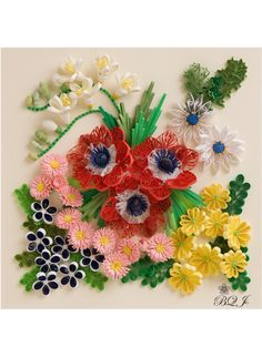 Quilling Quilled flowers