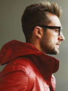 Red jacket # Men's Wear