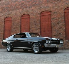 """a-slice-of-awesome: """" 1970 Chevrolet Chevelle SS """" #classiccarschevrolet"""