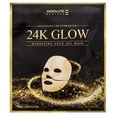 Shop Glow Gold Gel Mask by Absolute New York and drench your skin in gilded luxury. Mask For Oily Skin, Face Mask For Blackheads, Acne Face Mask, Face Skin, Gold Face Mask, Dark Spots On Face, Glow Mask, Hydrating Mask, Perfume