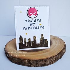 You are my Superhero | Fancy Friday Masculine Cards @stampinup @canadia