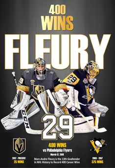 Golden Knights' Marc-Andre Fleury Posters - Get Both for One Great Price! The Effective Pictures We Offer You About creative career A quality picture can tell you many things. You can find the most be Boston Bruins Hockey, Pittsburgh Penguins Hockey, Chicago Blackhawks, Golden Knights Hockey, Vegas Golden Knights, Las Vegas Knights, Henrik Lundqvist, Hockey Girls, Hockey Mom
