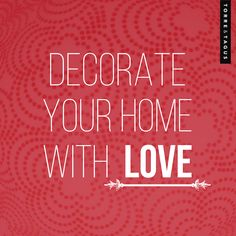 February is the month of Love and Friendship! Decorate your home with LOVE. #TorreAndTagus #ValentinesDay #Love #Friendship www.torretagus.com