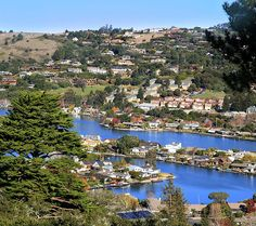 Ride the ferry to Tiburon, a village in Marin County with a picturesque main street straight out of a Norman Rockwell painting. You'll get the same amazing shots as you sail past Alcatraz and Angel Island, and once you arrive in port, you'll have room to roam away from the herd.