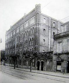 """Fábrica de fariñas """"La Molinera"""", na rúa de García Barbón"""