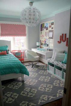 Pretty room colours and designs:)