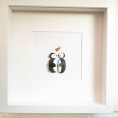 Pebble art Pebble picture penguins decor handmade wedding christmas gift idea | Home, Furniture & DIY, Home Decor, Wall Hangings | eBay!