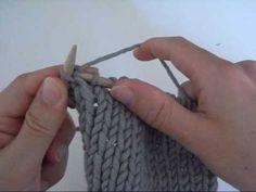 Les augmentations au tricot