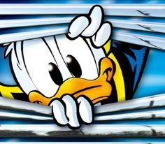 Donald Duck by on DeviantArt Disney Duck, Cute Disney, Disney Art, Disney Cartoon Characters, Disney Cartoons, Cartoon Art, Disney Collage, Pato Donald Y Daisy, Donald Duck