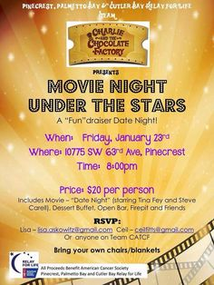 Movie Night fundraiser