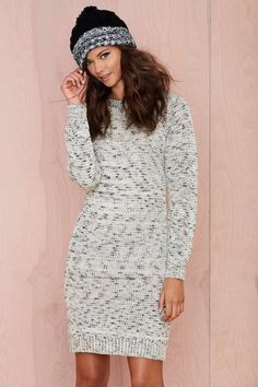 Leah Sweater Dress | Shop Clothes at Nasty Gal