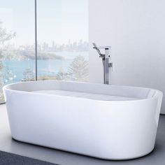 Aura 1800 Freestanding Bath http://www.caroma.com.au/bathrooms/baths/aura/aura-1800-freestanding-bath