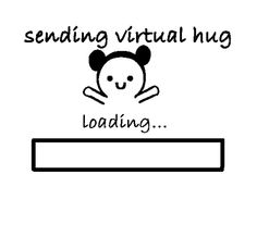 Image via We Heart It https://weheartit.com/entry/172033987 [animated] #cute #fun #gif #hug #life #quotes #virtualhug