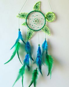 Turtle dreamcatcher!