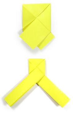Origami Zakje  Origami    Origami And Van