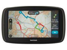 "GPS Automotivo Tomtom GO 60B - Tela 6"" Mapas 3D    GPS Automotivo Multilaser Tracker III Tela 4.3"" - Touch 2.500 Cidades Navegáveis"
