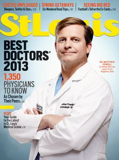 Dr. Crane and Dr. Kumar are featured in St. Louis Magazine's Best Doctors Issue for 2013. Pick one up and read about our amazing spine team!