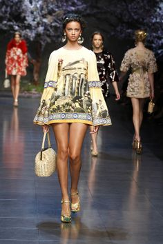 Ancient Greek: Dolce & Gabbana Summer 2014