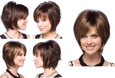 Short blonde layered bob haircuts