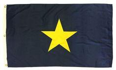 Burnet's 1st Texas Republic Flag 3x5 2-Ply Polyester