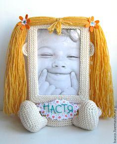 """Купить Именная рамка для фото """"Девочка"""" - подарок девочке, необычный подарок, для новорожденного, для девочки"""