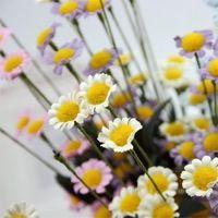 A casa fiore decor 1 bouquet margherita artificiali fiori di seta per la festa nuziale decorazione del giardino