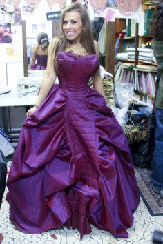 Emmy et sa jolie robe