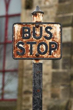 BUS STOP--not many left!