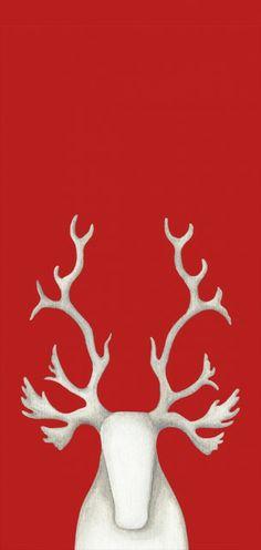 Lunch & Latte: Icelandic design: Christmas items by Hekla Íslandi Christmas In The City, Christmas Items, Red Christmas, Holiday, Icelandic Artists, Card Tags, Reindeer, Scandinavian, Moose Art