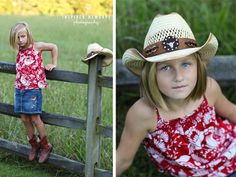Love this photo! Inspired Memorys Photography #family #kids #familyportraits #familyphotos #familyposes #kidposes #candids #fence #girl #boy #ncphotographer #field #siblings #familyof6 #familyof4 #headshot #closeup #portrait #cowgirl #cowboyhat